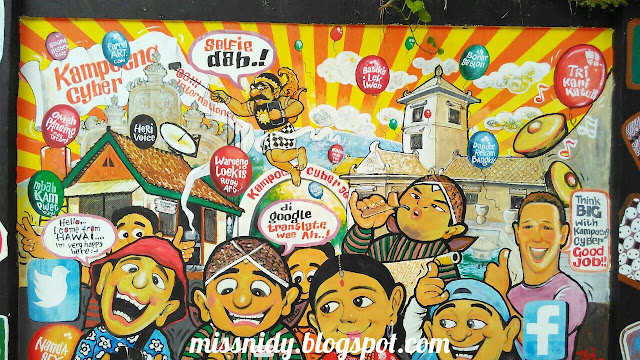 kampung cyber taman sari yogyakarta