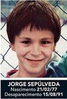 Jorge Sepúlveda - Desapareceu em 1991