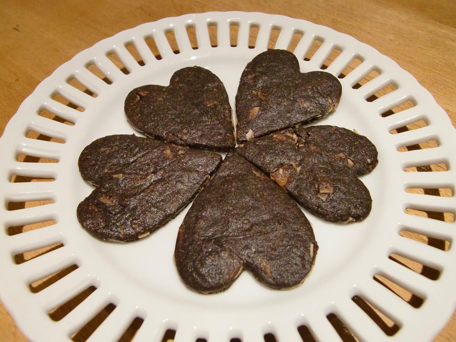 アーモンドが香ばしい米粉のチョコレートクッキー