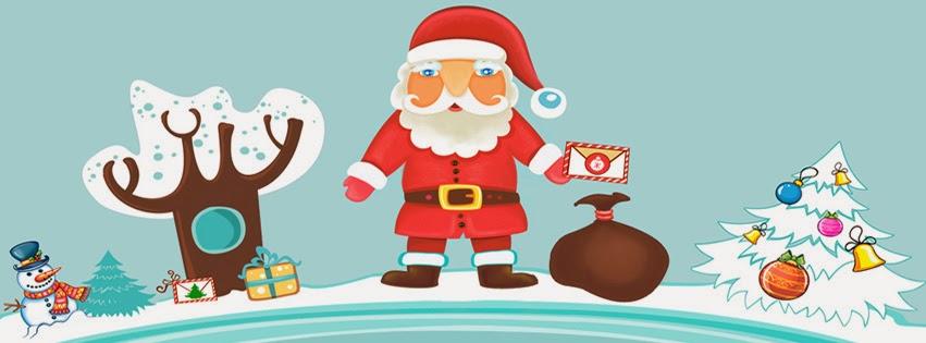 كفرات كريسماس فيس بوك 2014 ، اجمل كفرات راس السنة 2014