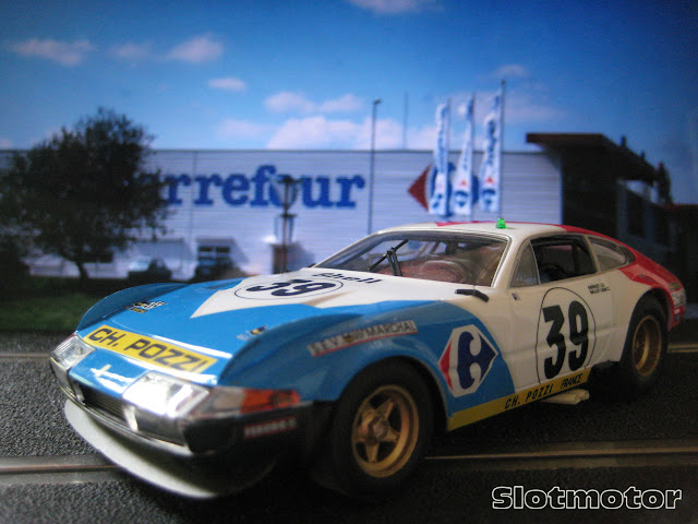 Ferrari 365 GTB/4 Daytona 24h. Le Mans 1972 - Fly Car Model