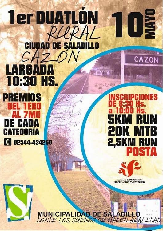 1er Duatlón Rural - 10-05-2015