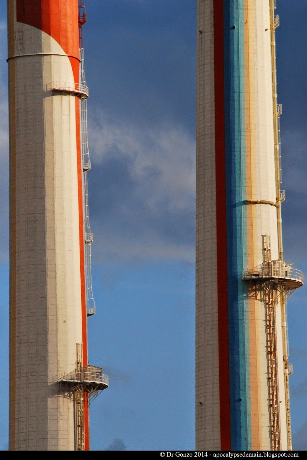 Usine EDF Ivry Power plant
