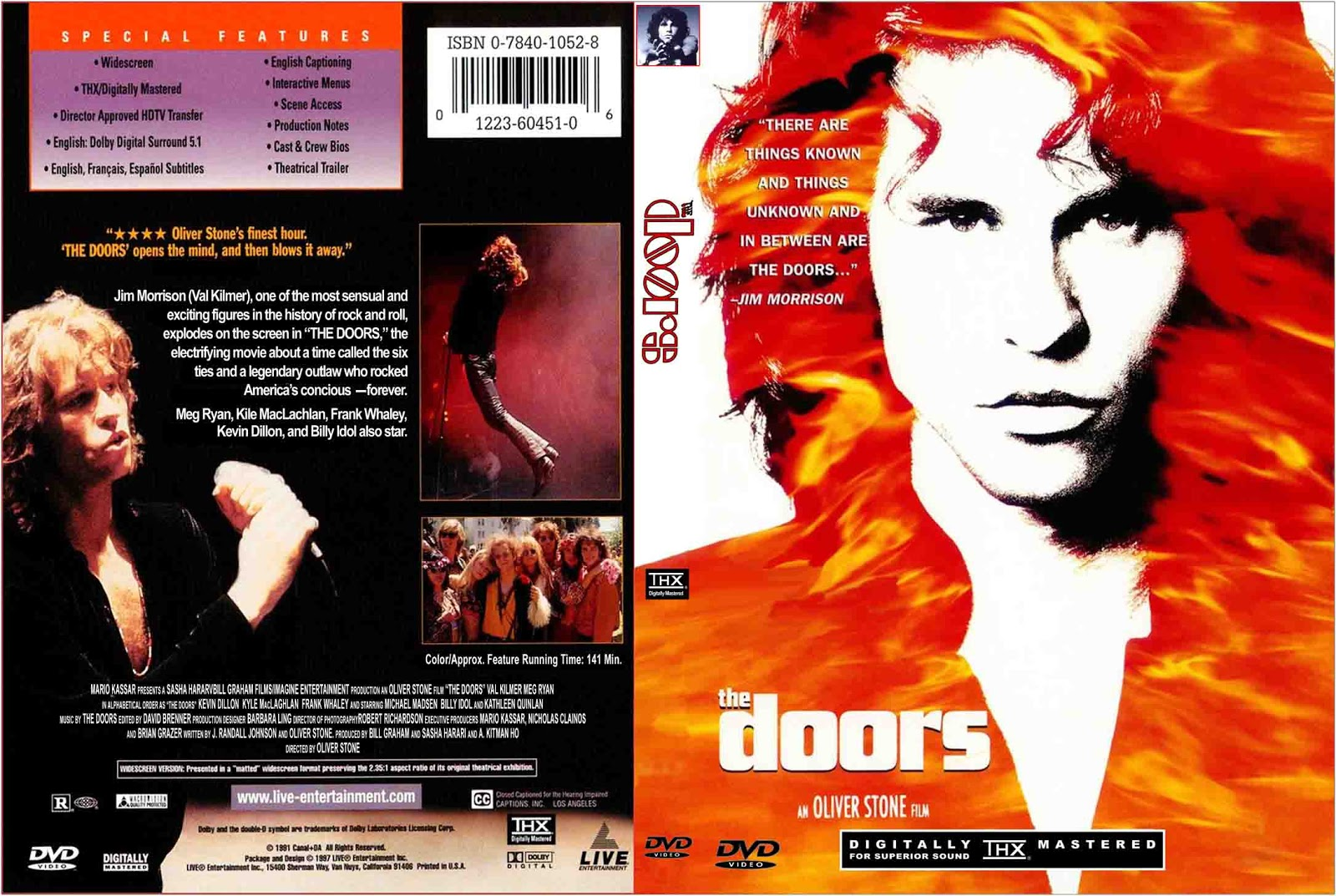 The Doors 1991 (directed by Oliver Stones) The film portrays Morrison as the larger-than-life icon of 1960s rock and roll counterculture ...  sc 1 st  youdiscoll & YOUDISCOLL: MOVIE: The Doors 1991 (Oliver Stones)
