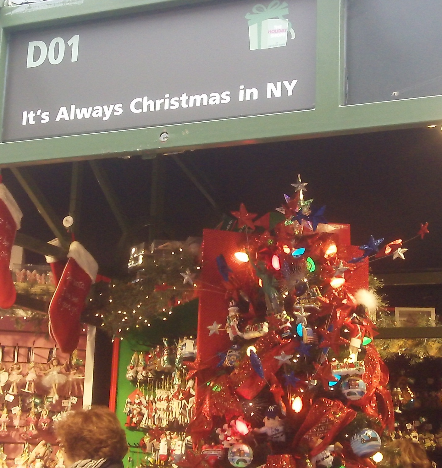 Davis day trips it 39 s always christmas in new york city for Christmas trips to new york