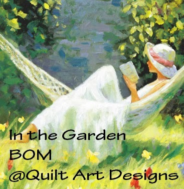In the Garden BOM at Quilt Art Designs