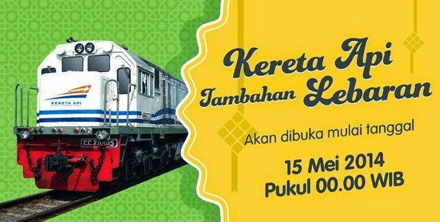 Tiket Kereta Tambahan Lebaran 2014