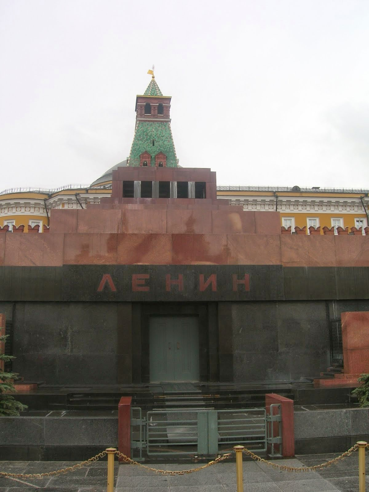 Lenin's Mausoleum, Red Square.