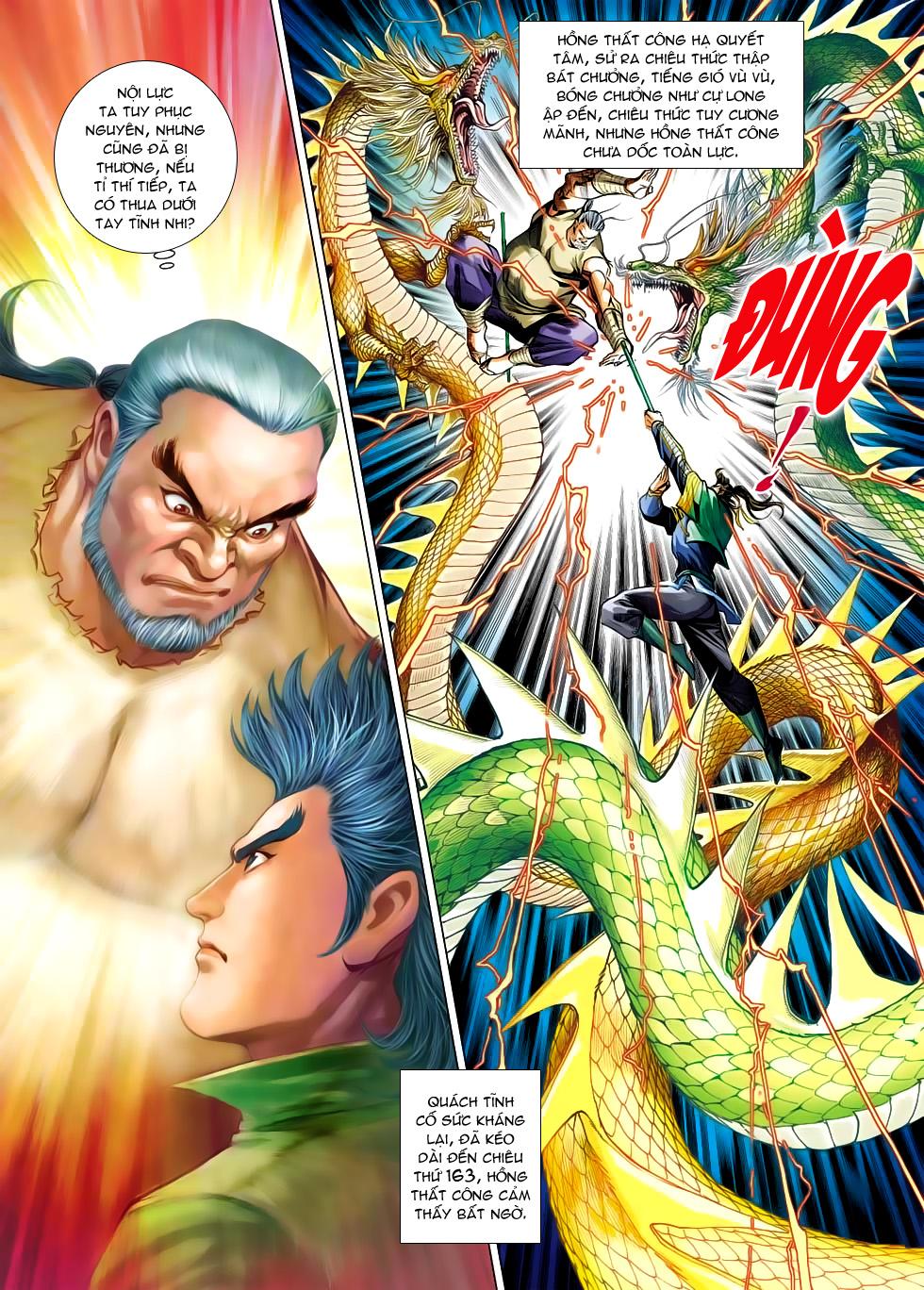 Xạ Điêu Anh Hùng Truyện chap 100 – End Trang 11 - Mangak.info