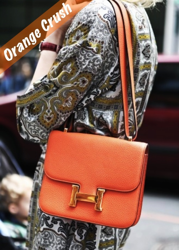 orange hermes bag
