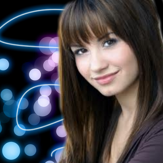 Demi Lovato con fondo