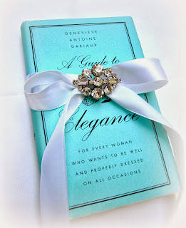 A Guide to Elegance, book on fashion, elegance, etiquette