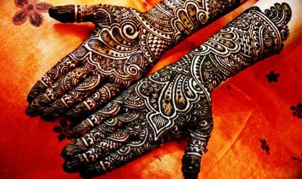 eid styles of mehndi