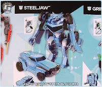 Takara Transformers Robots In Disguise トランスフォーマー RID Steeljaw Sideswipe Target 2015