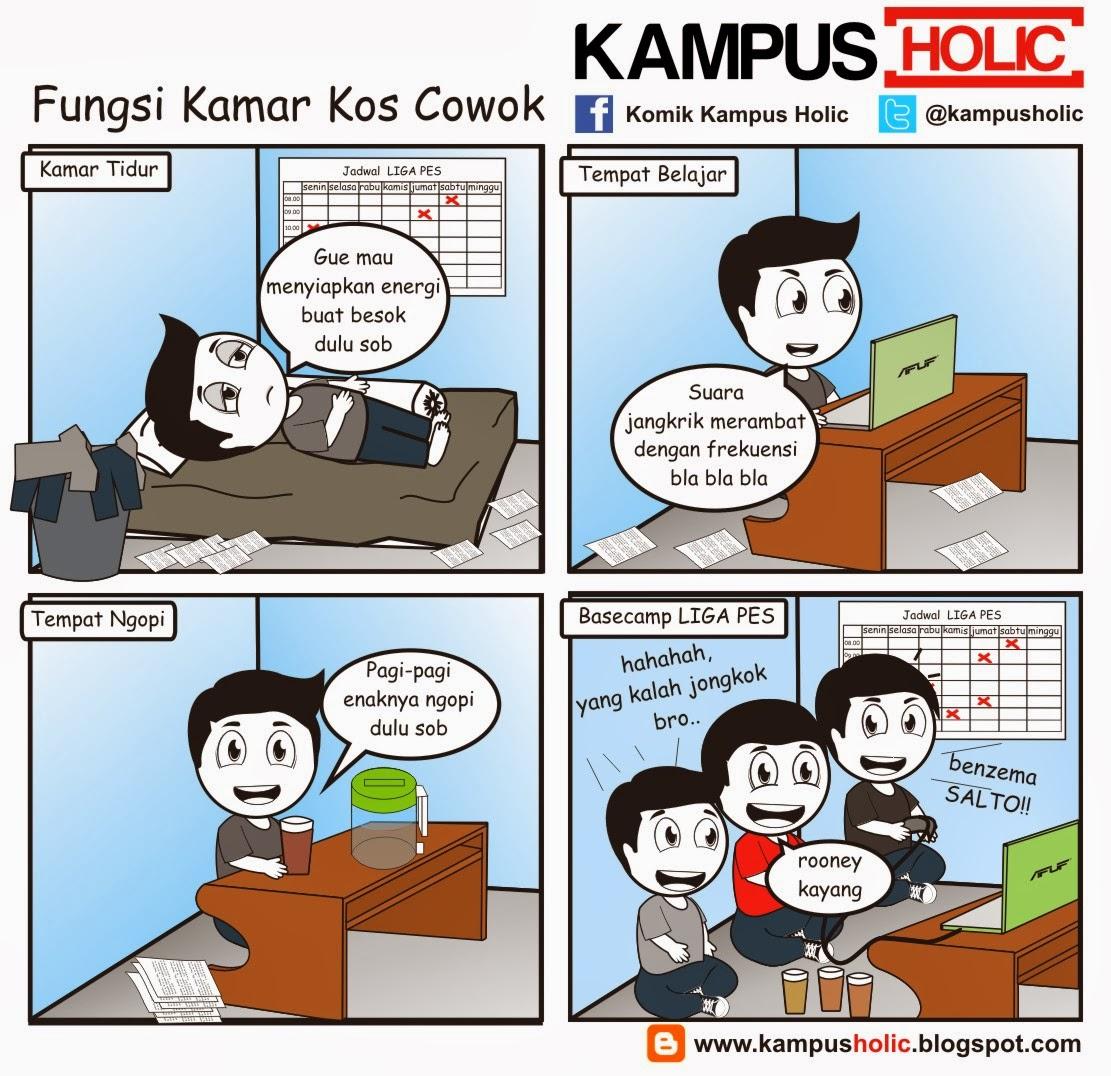 #438 Fungsi Kamar Kos Cowok