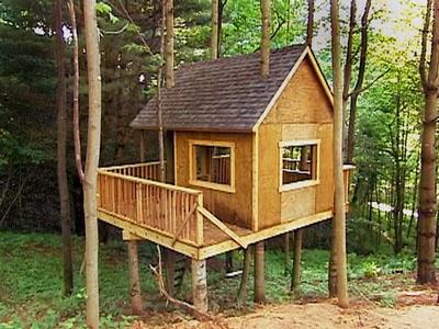 Ingeniando como hacer una casa del arbol for Como construir una casa