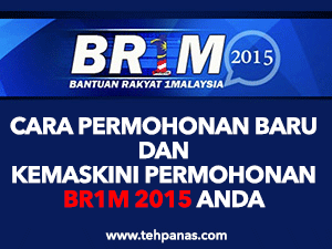 Thumbnail image for Cara Mudah Permohonan Baru & Kemaskini Permohonan BR1M 2015