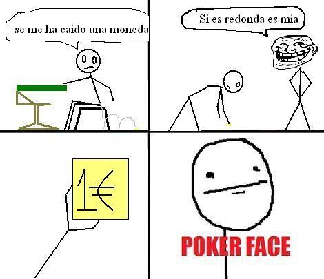 Que significa poker face meme