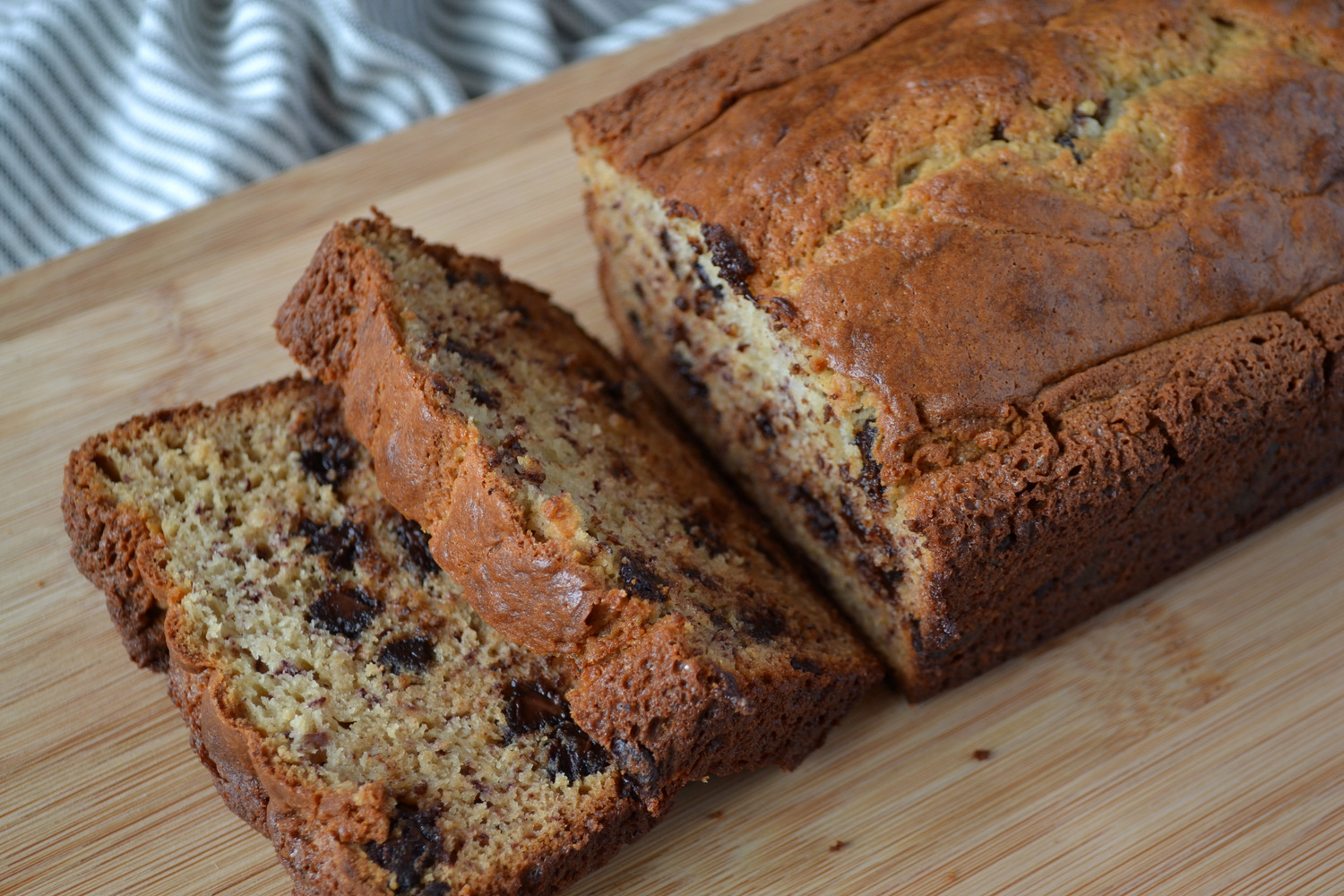 Kk test kitchen secret recipe club judys chocolate chip banana bread for secret recipe club this month i was assigned the blog my judy the foodie which is where shari shares her adventures in cooking her mother judys forumfinder Choice Image