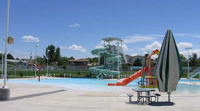 Centennial park swimming pool