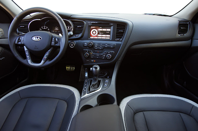 Interior of 2011 Kia Optima