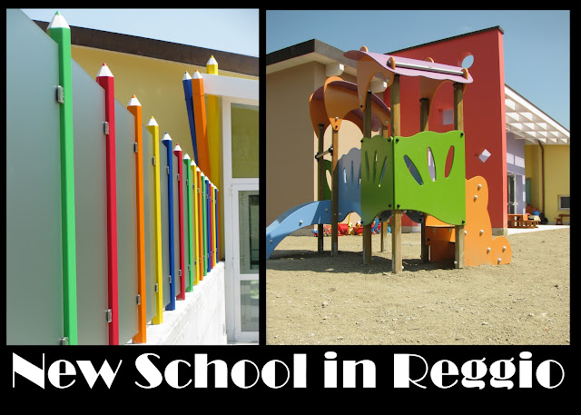 photo of: New Childcare Center in Reggio Emilia Italy