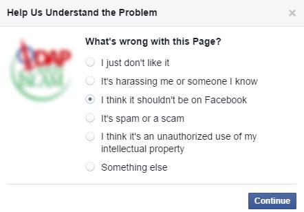 Cara melaporkan Page Facebook yang berbau SARA / Anti Islam
