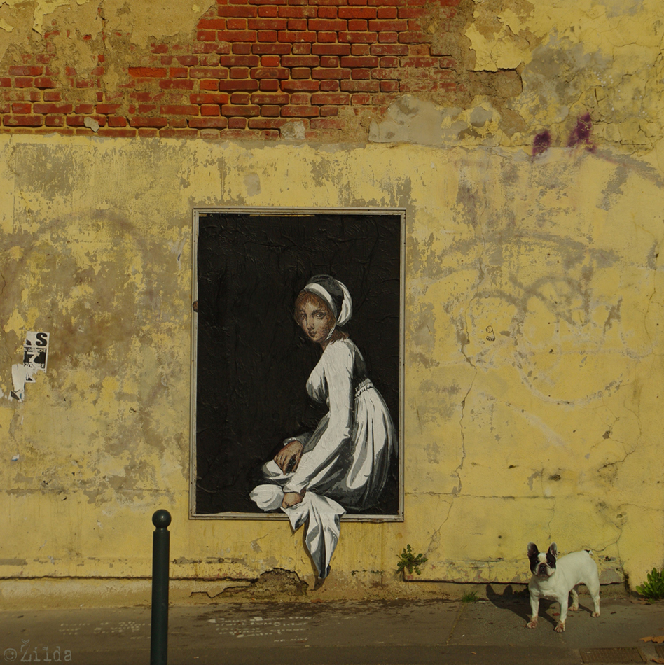 Zilda, street art, Fragiles Fabulae, Rennes