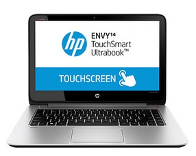 HP Envy TouchSmart Ultrabook 14-K102TX