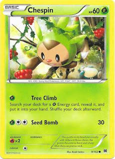 Chespin BREAKthrough Pokemon Card