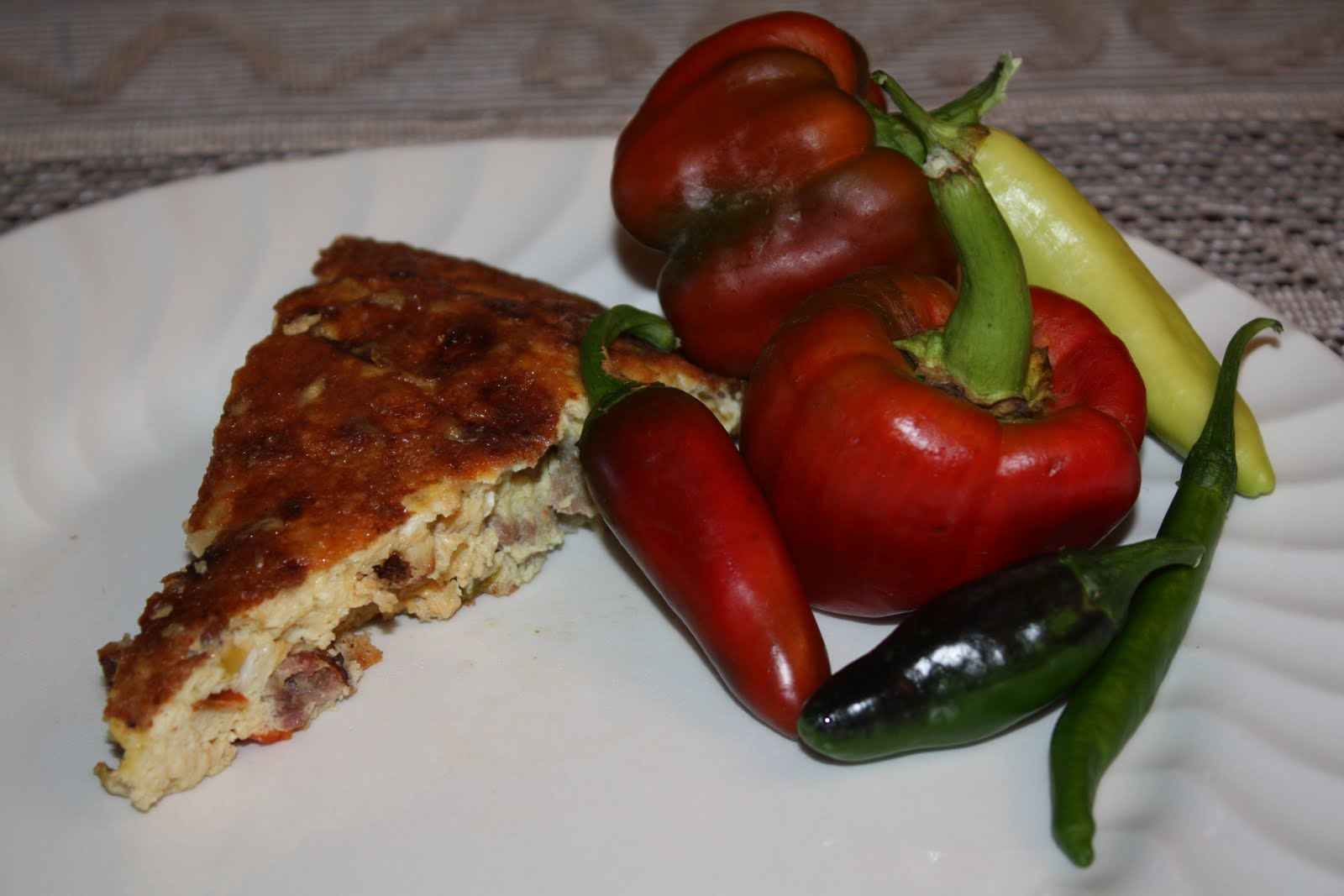 The Ranch Kitchen: Italian Sausage and Roasted Red Bell ...