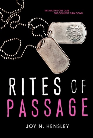 Rites of Passage Joy Hensley book cover