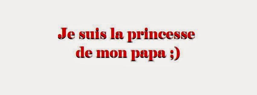 Magnifique couverture facebook je suis une princesse