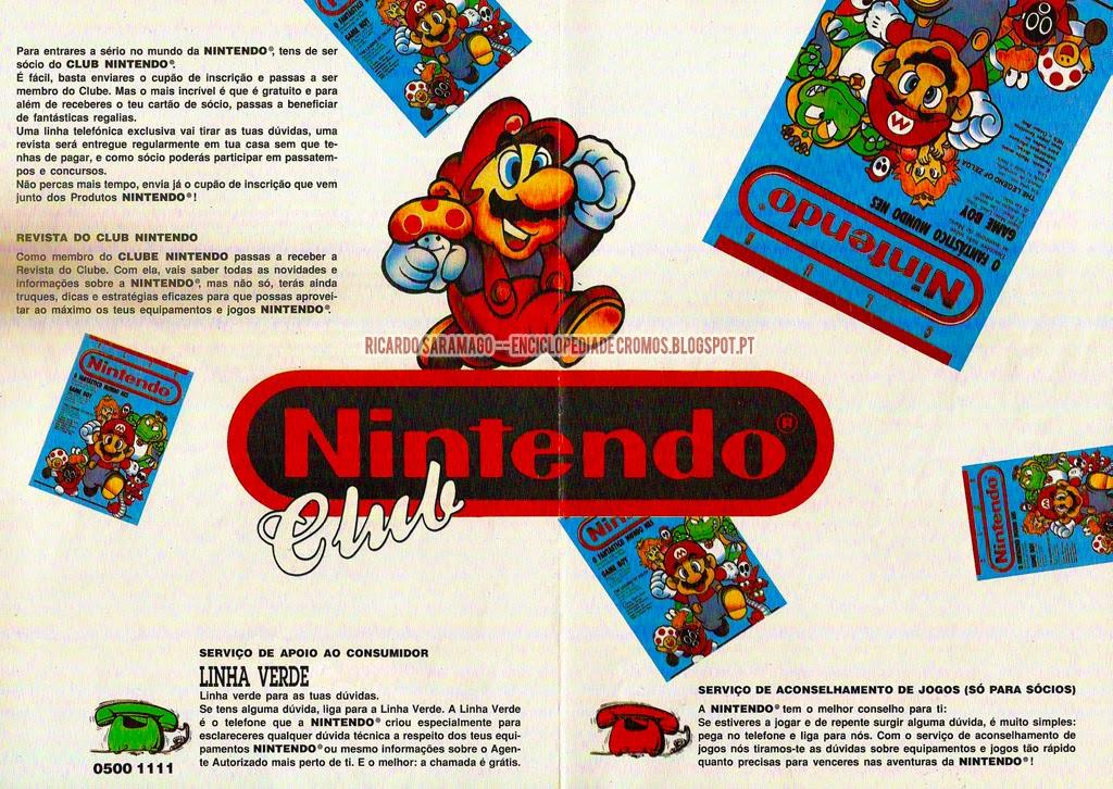 Club Nintendo Portugal Revista Linha verde