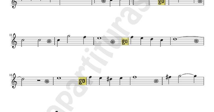 Tubepartitura blanca navidad partitura para saxof n alto - Blanca navidad partitura ...