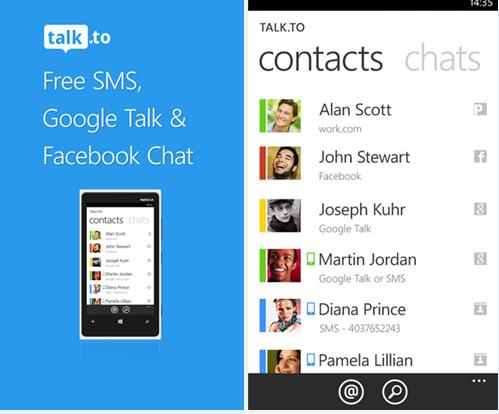 gtalk free  for windows phone