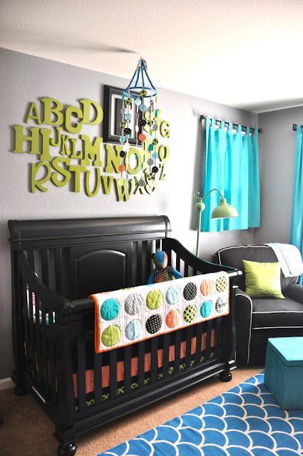 DIY Nursery Letters Wall Decor