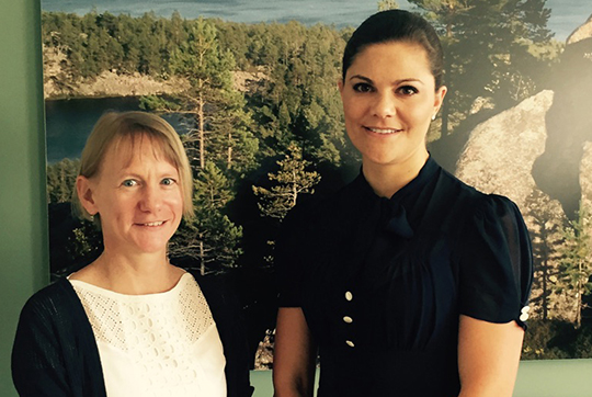 Crown Princess Victoria Style