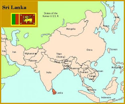 Ca se situe o le Sri Lanka ?