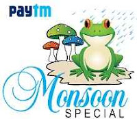 Paytm : Monsoon Special Products With Extra upto 40% Cashback Starting at Rs.111 : Buytoearn