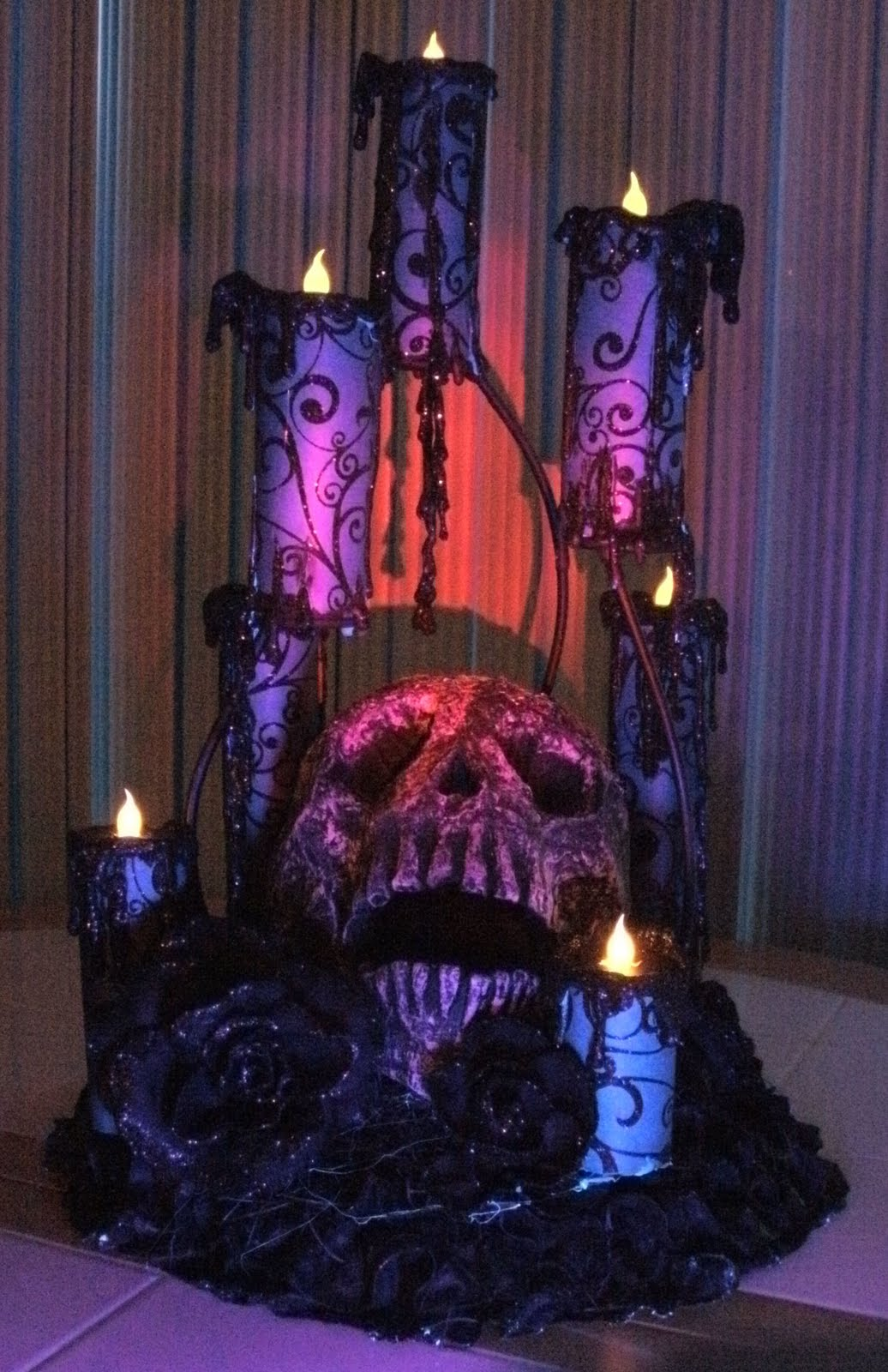 House Of Dewberry Diy Halloween Creepy Candles