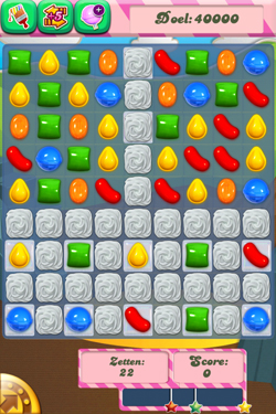 Candy Crush Saga - het spel