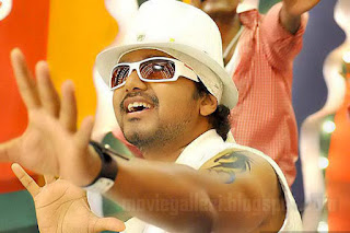Indian Actor Vijay Tattoo on Arms
