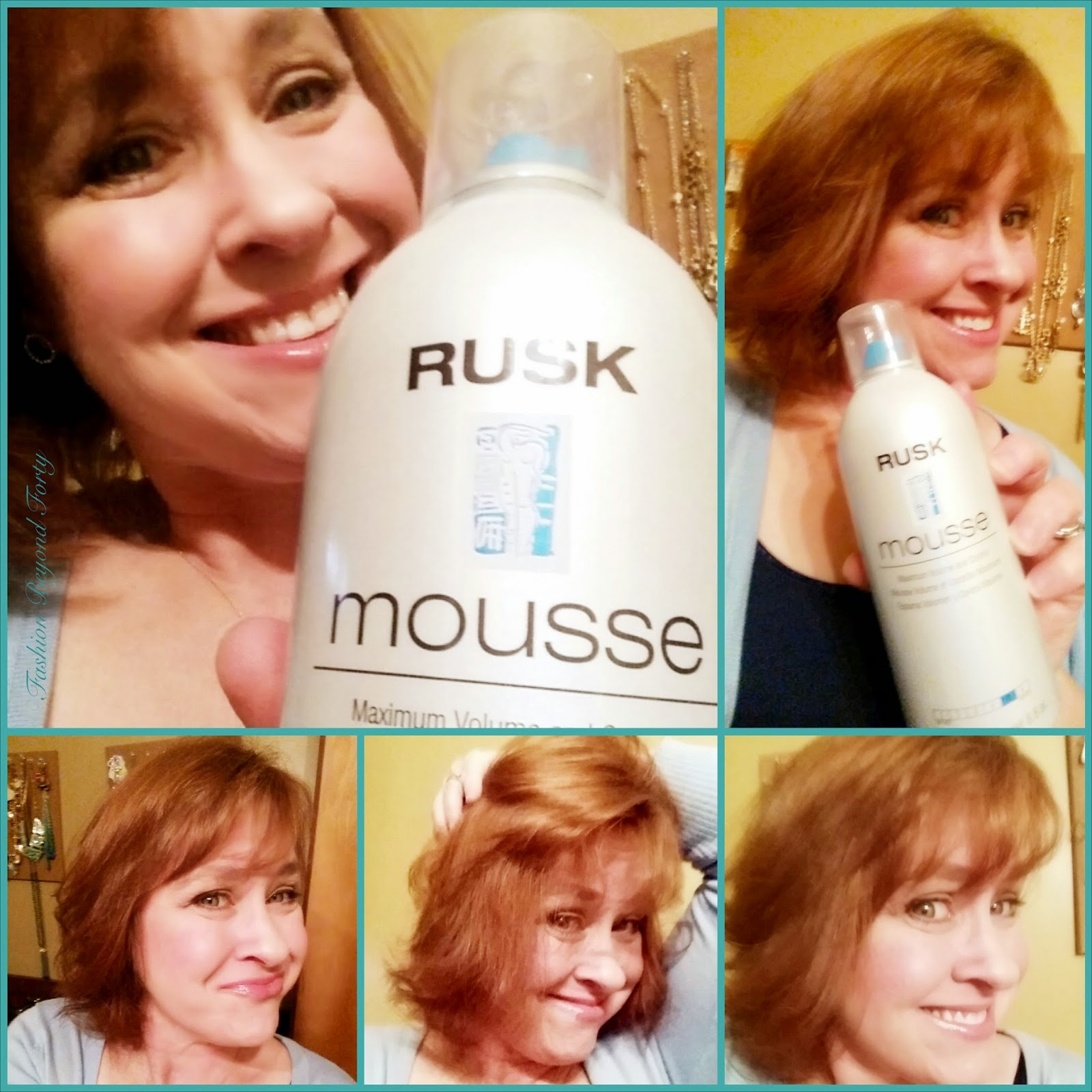 Rusk Mousse - Maximum Volume & Control Review + Giveaway