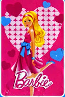 Grosir Selimut Rosanna Soft Panel Blanket Barbie