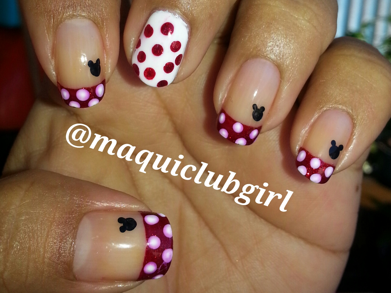 MAQUICLUB GIRL: ABC de la Uñas (M de Mickey Mouse)