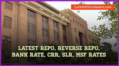 Quiz on latest RBI Rates