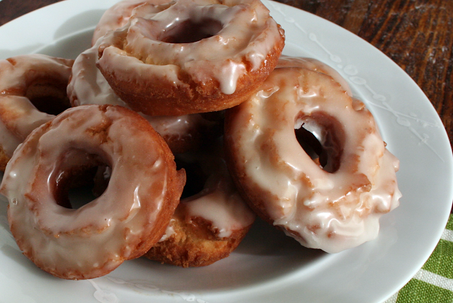 Homemade Old-Fashioned Glazed Doughnuts and Donut Holes