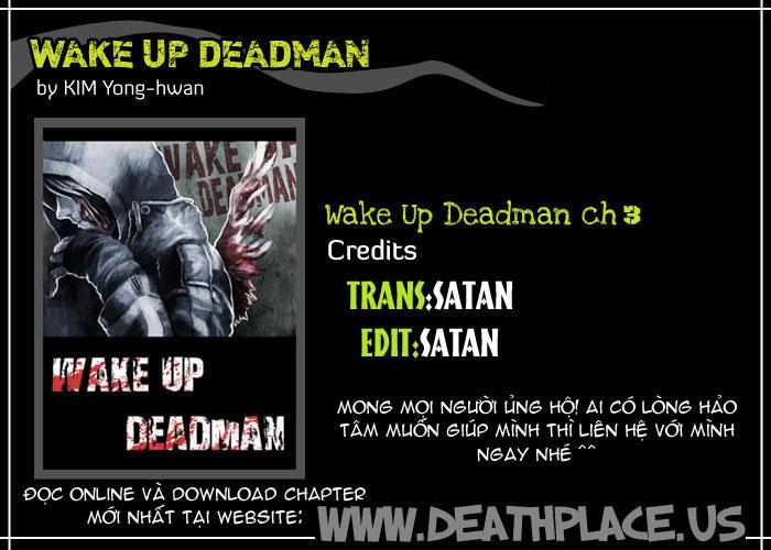 Wake Up Deadman chap 3