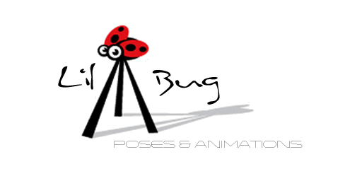 {Lil'Bugs pose}